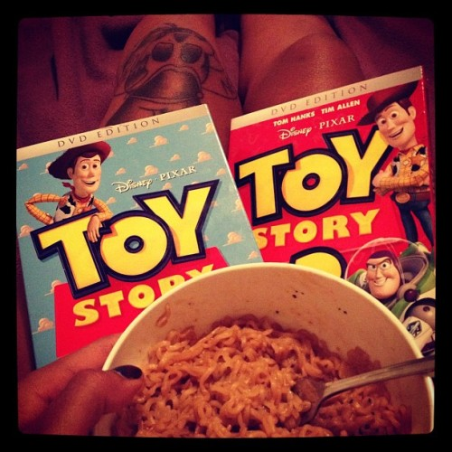 Party \m/ 🍜 #toystory #toystory2 #tattoo (Taken with Instagram)
