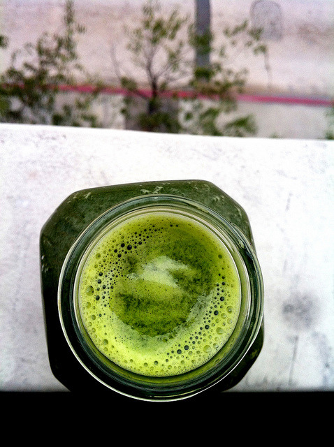 Broccoli Cucumber Chard Juice