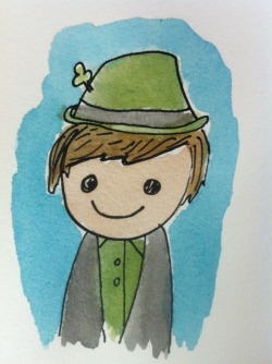 Someone on Reddit drew this picture of me. How adorable is that? All you guys are pretty awesome.