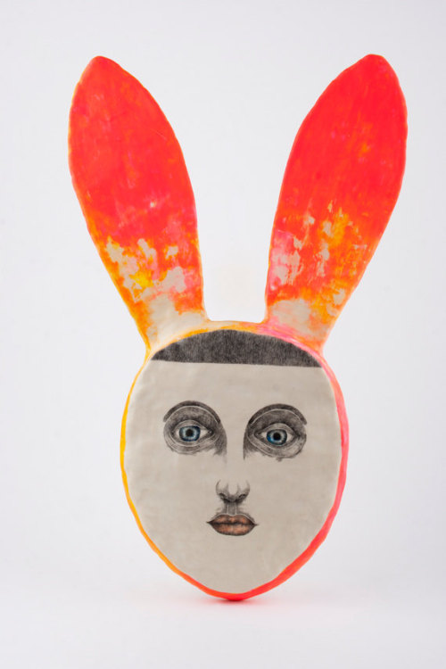Girl Rabbit Portrait - DoubleFoxStudio