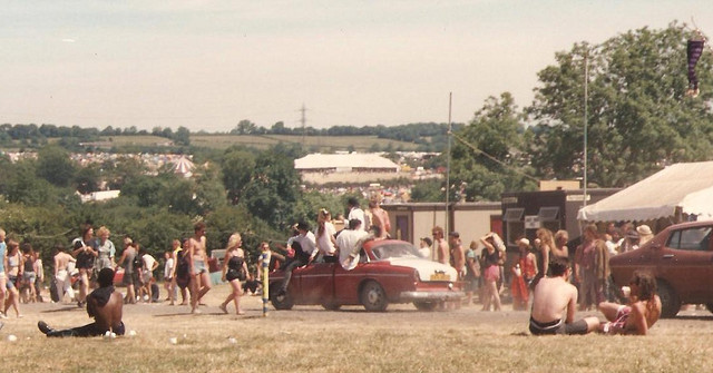 davidcorvine:  Glastonbury, 1989.