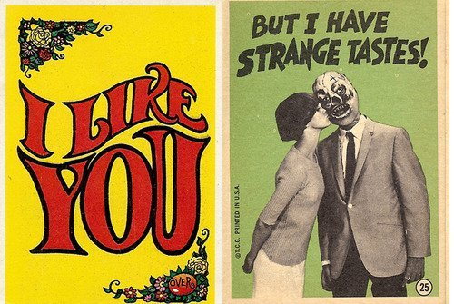 from Robert Crumb's 1965 Monster Greetings cards