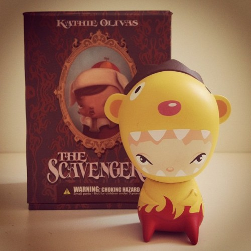 #kathieOlivas #TheScavengers #toys #toysrevolution #vinyltoys #pictoftheday #iphone #instagram  (Tomada con Instagram)