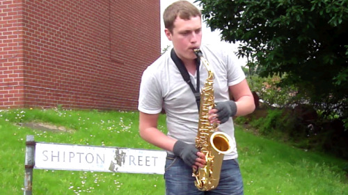 June  2012, and saxophonist James Sweeting played a pop-up music recital on the site of the former Shipton Street Settlement in Upperthorpe, Sheffield, devised and filmed by Eddy. It featured numbers from a 1927 concert played at the Settlement. The DVD was shown at a conference about the late warden, Arnold Freeman, at Freeman College, Sheffield, and was later accepted into the Freeman Archive at Sheffield University.