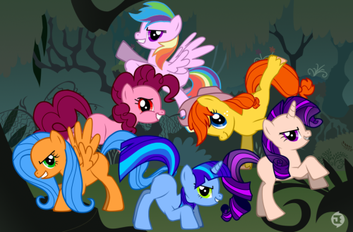 /Sigh/  That moment when someone is so lazy with that Pony Maker that they still just make recolors of the main characters.