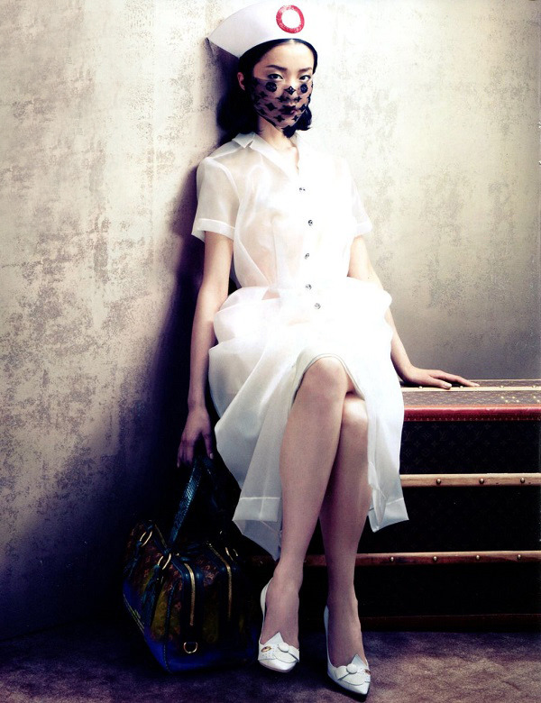 Sharif Hamza / Vogue China August 2012.