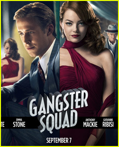 A new Gangster Squad poster has been released… Emma and Ryan are looking fine!