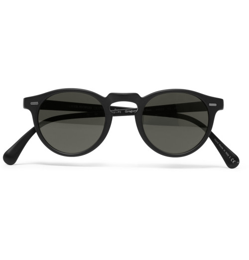 Oliver Peoples - Gregory Peck Polarized Acetate Sunglasses | Anchor Division