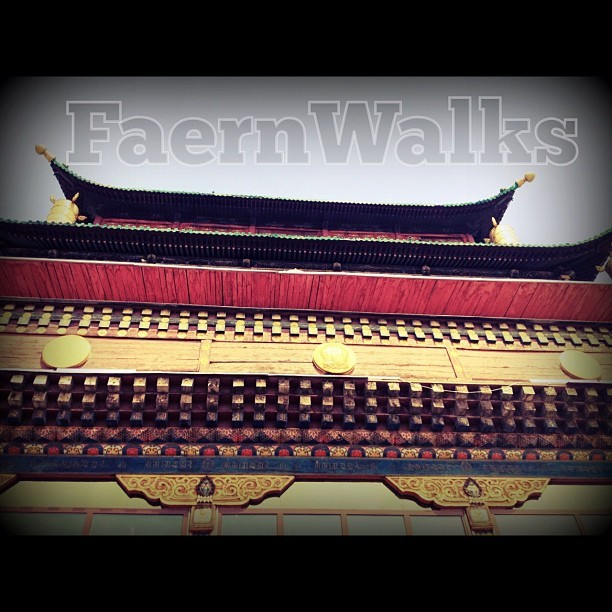 #faernwalks #ulaanbaatar #mongolia …  khiid (Taken with Instagram)
