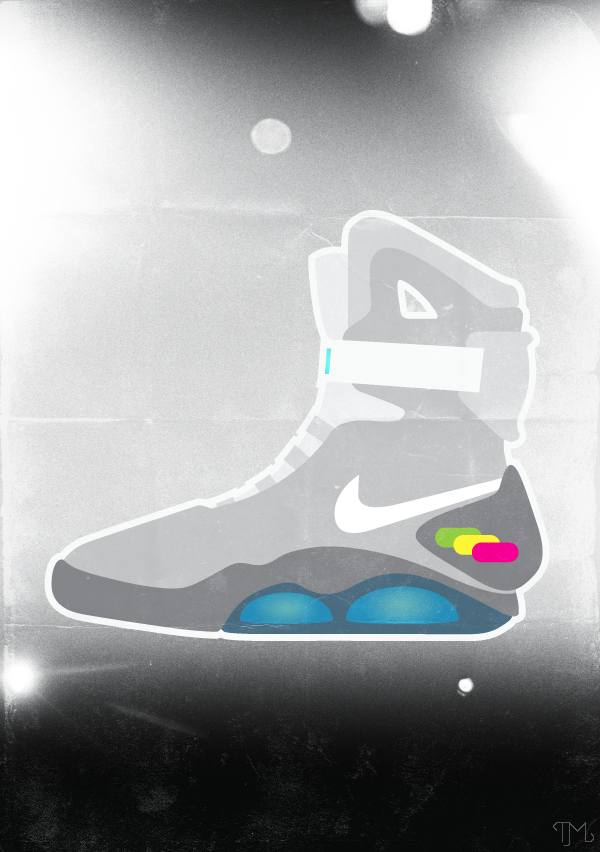 Inspired by: Back to the Future II - Nike sneakers 'Design Per Diem'