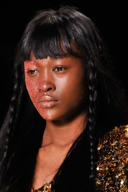Betty Adewole at Vivienne Westwood F/W 2011-12.