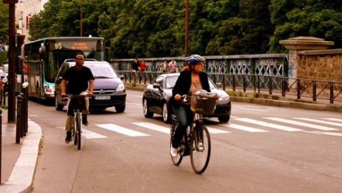 nedsecondline:  (via IPS – The Bicycle Revolution in Paris, Five Years Later | Inter Press Service) …when Vélib' marked its fifth anniversary on Jul. 14, it was also able to celebrate its undeniable success: in five years, 138 million people have used the 23,000 rental bicycles, and the system currently has 225,000 subscribers out of a total urban population of 2.3 million.