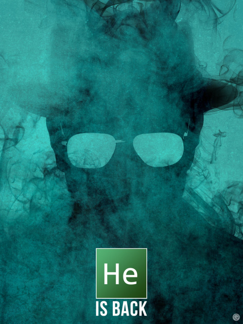 Breaking Bad by Guillaume Vasseur
