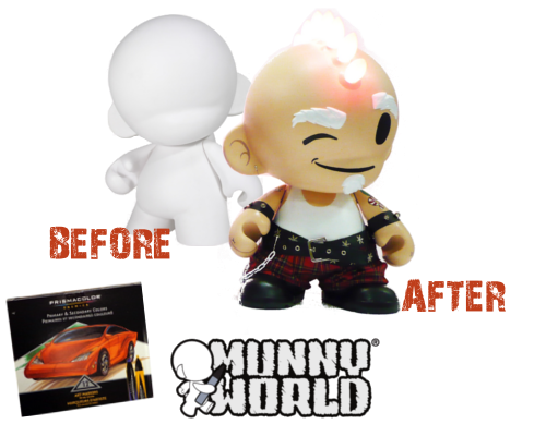 "This week's Road Trip prize is a 20"" Mega Munny. Express your creativity in a whole new way with this DIY vinyl toy!"