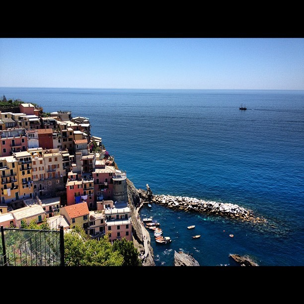 Each corner I go around is more outrageous than the next - Manarola (Taken with Instagram)