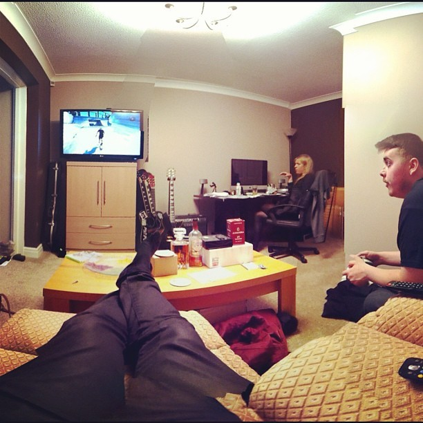 Skate3 sesh w/ @dannyjscameron and @megannfisher  (Taken with Instagram)
