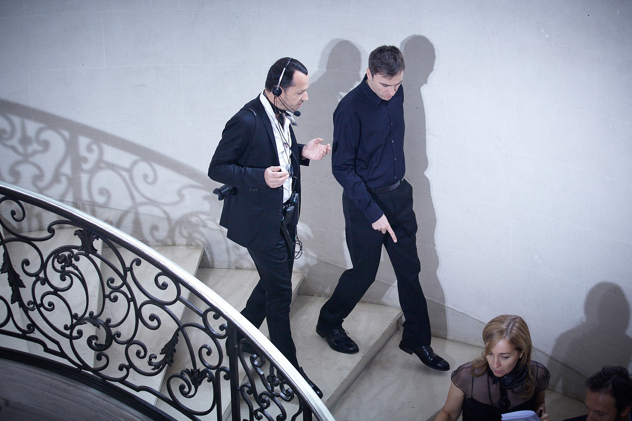Raf Simons and Alexandre de Betak Christian Dior Haute Couture FW 2012 Produced by Bureau Betak Picture by Daniel Beres