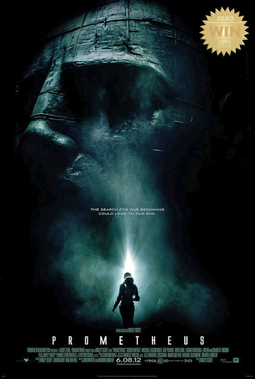 "Prometheus (2012) A team of explorers discover a clue to the origins of mankind on Earth, leading them on a journey to the darkest corners of the universe. There, they must fight a terrifying battle to save the future of the human race. Ridley Scott returns in the captains seat in this, H.R. Giger illustrated, Sci-Fi Fantasy Adventure Horror ""prequel of sorts"". TRIVIA: Producers Walter Hill and David Giler rejoin Ridley Scott for the first time in over 30 years since they first collaborated on Alien.  He announced in advance that ""This will be an original movie and not a direct prequel to Alien Saga"". HAVING SAID THAT… we can forgive him for the (Obvious) Technological Anachronisms of the film (digital tech. in a prequel -> leading towards an analog film?!?!? = shut up).  ""They went looking for our beginning. What they found could be our end."" Darwin's EVILution! Cheers to the visually stimulating and thought provoking intro. Alien engineers come to earth bearing biological science/weaponry and impregnate her with life. The alien dies and from his death comes life… Sacrificing his/ones life for the sake of the world (sounds like someone familiar?). Playing along the lines of ""Angels are actually aliens who brought us here long time ago, and would check up on us from time to time"" (miraculous sighting of angels/holy beings + cave drawings/markings) - something certain people (non-theists & conspiracy theorists) like to toy with in their heads. The ""original Girl with the Dragon Tattoo (2009) Noomi Rapace is the leading lady in this tale of mankind's search for truth. ""MEOW!"" Charlize Theron plays the sultry cold blooded leader of the pack, loved how that outfit grabbed her bod. Guy Pearce plays Peter Weyland!!! Also seen in the viral (fake) TED talk dated 2028 - http://www.weylandindustries.com/ And ""The man"" Michael Fassbender is the mechanical wrench to humanities plan. Giving robotics a new face to admire.   TRIVIA: The androids' names in the Alien films follow an alphabetical pattern: in Alien it's Ash, in Aliens and Alien³ it's Bishop, in Alien: Resurrection it's Call and in this film it's David.   The adventures main goal was to find the ""answer"" and fulfill the selfish desire to obtain fountain of life. Sadly our heroes bump into a ""survival of the fittest"" dilemma. A conflict of destruction versus creation. In Greek mythology, the Titan Prometheus was a servant of the gods, who stole and gave to mankind the gift of fire, an immeasurable benefit that changed the human race forever. This fit so well in the story, accidentally (i assume) bumping everything else about the movie of the way… The presence of some details (actors, technologies and scenarios) were just circumstantial, and at times silly. Examples would be: the rush surgery, the ""snake"" encounter, removal of the helmet = scientists being dumb (and disposable) in a classic horror sci-fi ""wouldn't you agree?"". If they did not make those mistakes, we wouldn't have a film. ""It's what I choose to believe"" hahahahaha! I enjoyed the ""backslap to religion's face"", especially in a devout country such as ours. Did we watch the same film? The moon's name in the film is LV-223! Have you ever read the bible verse Leviticus 22:3??? Yeah, thought so. There is no god, there are beings from another place responsible for our planet being the way it is. The black fluid/mutagen is also a star! Call it evil… call it sin, call it change. I believe it to represent (inevitable) evolution. It was such a diverse agent making many possibilities doors open. A genetic infection which affects all forms of life, forcing it to adapt/mutate into what it is not at a fast rate. Which also explains the other Alien films and comic books (tiger, bull, snake Xenomorphs).  In the end i must say, this had spectacular cinematography (SFX) and a talented lead cast. Prometheus is thought provoking film that i thought it would be. Not a 100% Alien prequel but my hunger was satisfied. Even with the inclusion of a xenomorph ancestor was included!!! Some bitched and moaned, some were happy with the razzle dazzle, others opened their minds and see past the film. For those who hate, give it another shot. For those critical about details, might i remind you this is a sci-fi film. And to the curious, watch it. A science fiction fans (atheist) wet dream brought to the big screen! LOVELY."