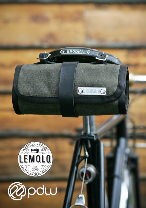 downbylow:   Lemolo Tool Roll – For Sale This Friday!!! | Lemolo Baggage Yeah for me!!! I was the second person to order this awesome bike tool bag for my Raleigh and I get the free tool with my order! Can't wait to get this!