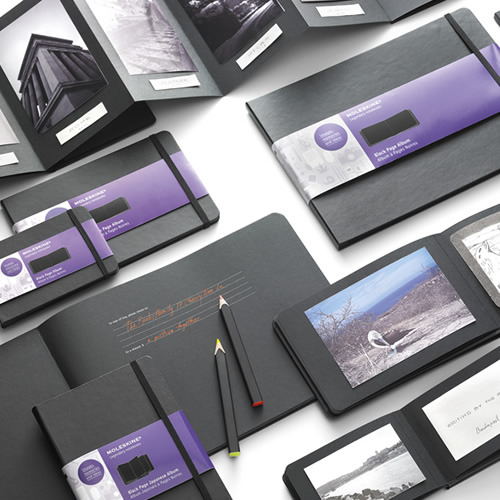 escapekit:  Moleskine goes black