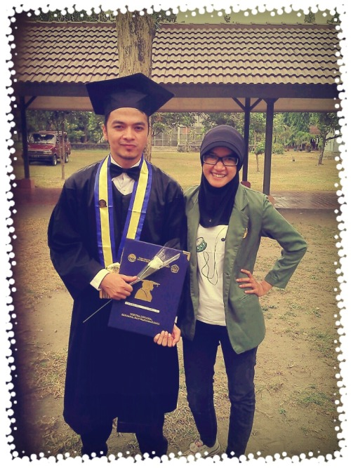 Kak @afdhilsalim 's graduation. 14th July 2012.