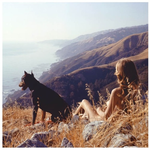 theroamer:  Sandy and Agar, Big Sur, California, 1961 by Hunter S. Thompson