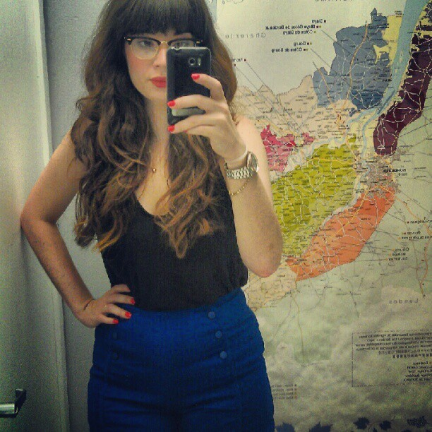 today's outfit. (Taken with Instagram)