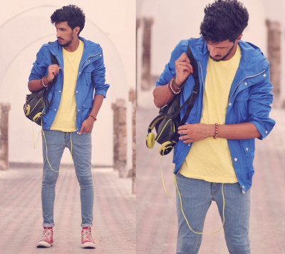 Love the colors <3 need that jacket!