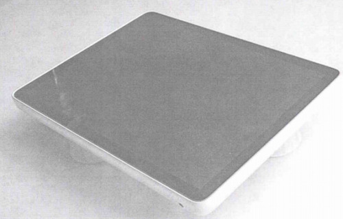 "The earliest known iPad prototype: Here's a bit of history that NetworkWorld surfaced as a result of the Apple/Samsung lawsuit — back in 2002, Apple was already working on tablet prototypes. (""I actually don't know which model shop made this,"" noted Jony Ive during testimony in the trial, ""but I recognize this as a model that was produced during our exploration."") Here's what the prototype looked like. A couple interesting things: First, no buttons. Second, it looks like the monitor half of an old iBook. Third, it's very thick compared to the current iPad models. But clearly, this was the iPad before all the rough edges were sanded off."