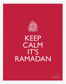 It's Ramadhan :)