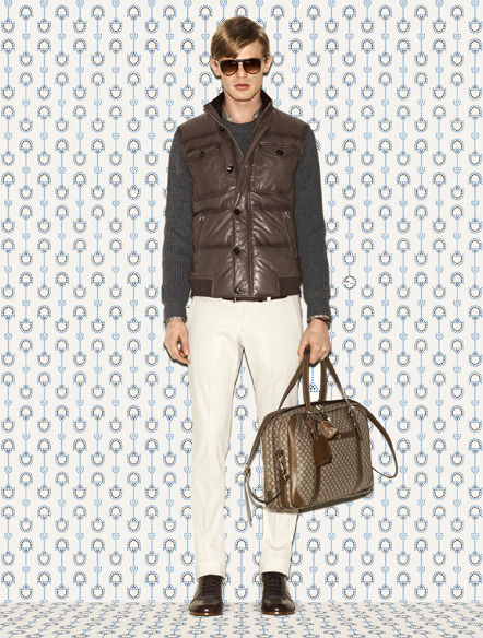 Gucci Men's Prefall 2012 Collection http://bit.ly/Q6t5GB