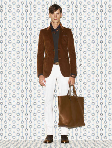 Gucci Men's Prefall 2012 Collection http://bit.ly/LyeCle