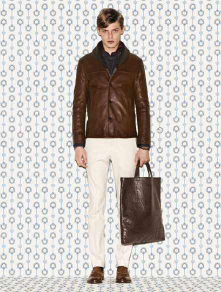 Gucci Men's Prefall 2012 Collection http://bit.ly/NhVLvI