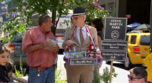 collegehumor:  Steve Martin Opens Park Well, here;s the best park ever designed.  Everything in moderation.   … unless it's awesome.