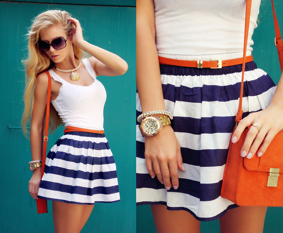 lookbookdotnu:  Nautical stripes (by Sirma Markova)