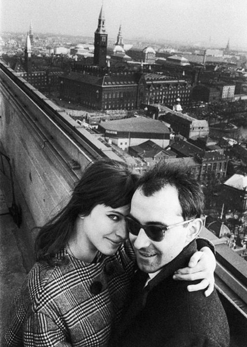 When Godard met Anna Karina: the master director and the masterful performer once happy in love.