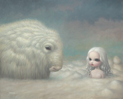 nohannahno:  Heaven - The Snow Yak Show, 2008 (oil on canvas) by Mark Ryden