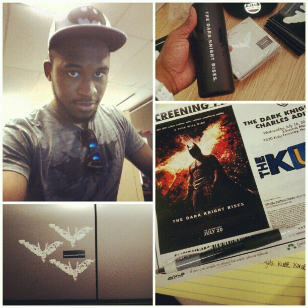 Today's the day! #batman #darkknight #houston #film #movie  (Taken with Instagram)