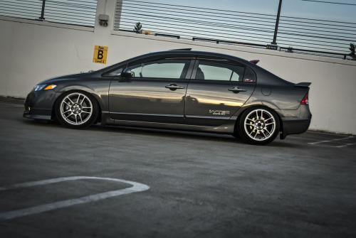 akphotos:  Functionally Stanced Honda Civic Si FA5