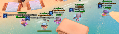 guild islands were released!  time to fish~