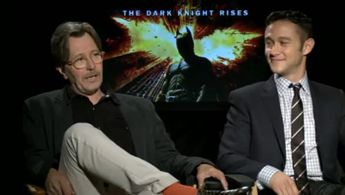 Gary Oldman and Joseph Gordon-Levitt talk Christopher Nolan The Dark Knight Rises is almost upon us, so we're pleased to be able to present you with a series of exclusive interviews from the cast and crew behind Chris Nolan's epic conclusion to his Batman trilogy…