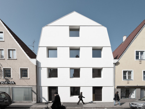 subtilitas:  Soho-Architektur - Ke12 White house building renovation, Memmingen 2011.