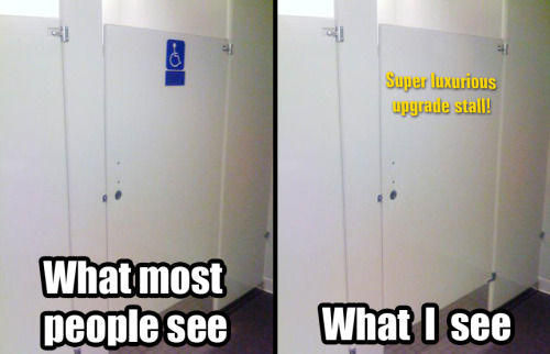 Disabled Toilet Stall