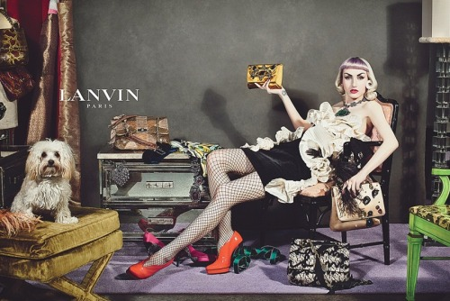 Lanvin Fall/Winter 2012 Ad Campaign
