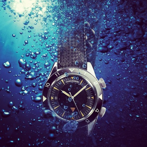 Back in the 1950's with the original #Memovox Deep Sea watch (Taken with Instagram)