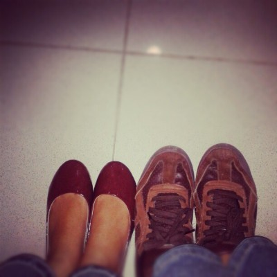 Shoes of the day @DENNISARIANSYAH #shoes #couple #brown #photooftheday  (Taken with Instagram)