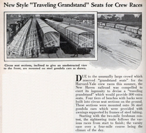 "rubodewig:  (via New Style ""Traveling Grandstand"" Seats for Crew Races 