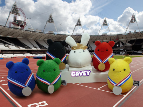 How cute are these? Check them out http://www.heycavey.com/news/champion-cavey/