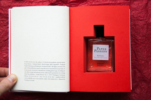 laughingsquid:  Paper Passion, A Perfume That Smells Like Books For Booklovers