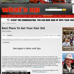 Congrats to our staff for our hard work! #bestofthebest2012 #elpaso #salon #spa (Taken with Instagram)